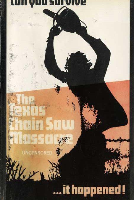 The Texas Chainsaw Massacre UK IFS Pre Cert Video Uncensored Sleeve