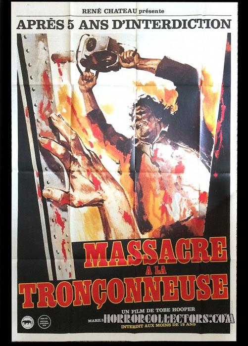 texas chainsaw massacre french grande poster