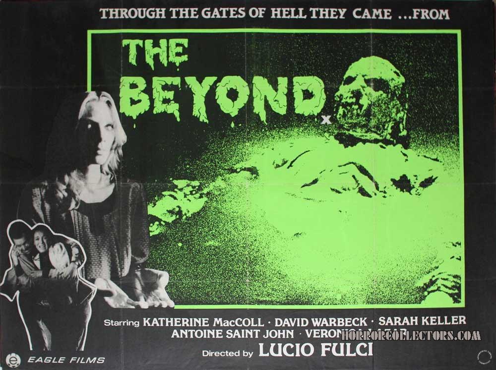 The Beyond UK British Quad Poster
