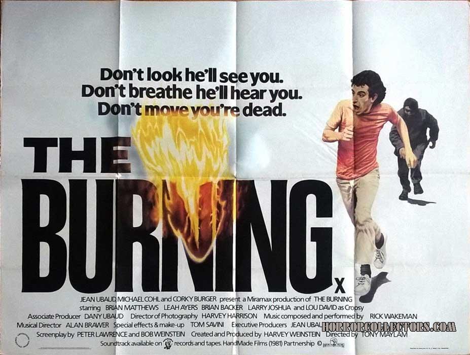 The Burning British Quad Movie Poster