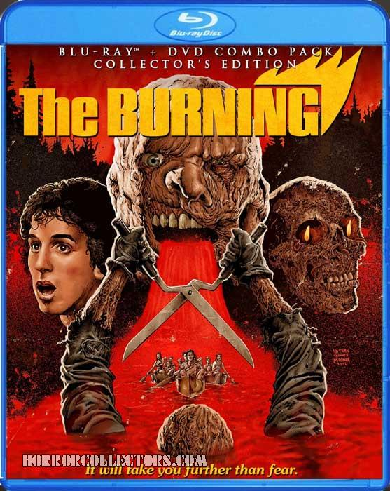 The Burning Scream Factory Collectors Edition Blu-Ray