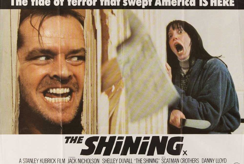 The Shining British Quad Poster
