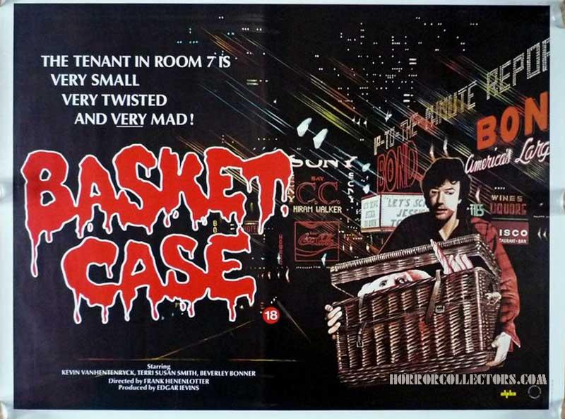 BASKET CASE BRITISH QUAD POSTER