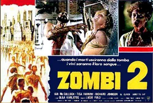 Zombi 2 Italian Fotobusta poster 07