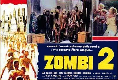 Zombi 2 Italian Fotobusta poster 06