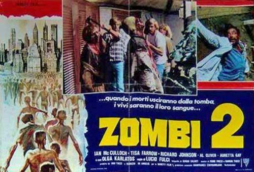 Zombi 2 Italian Fotobusta poster 04