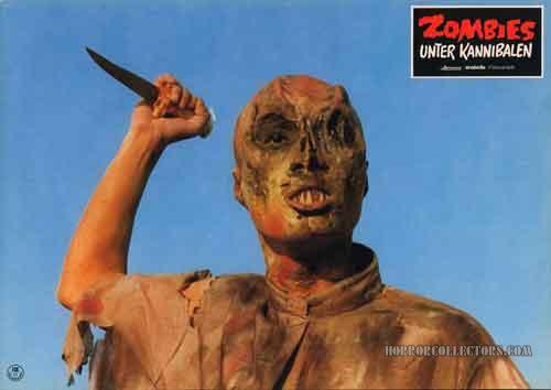 Zombie Holocaust German Lobby Cards