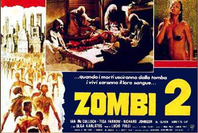 Zombi 2 Italian Fotobusta poster 01