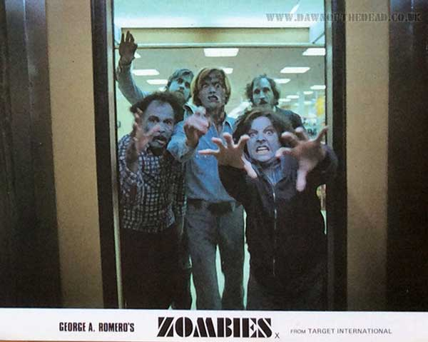 Dawn of the Dead British Target Lobby Card 01