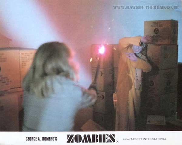 Dawn of the Dead British Target Lobby Card 03