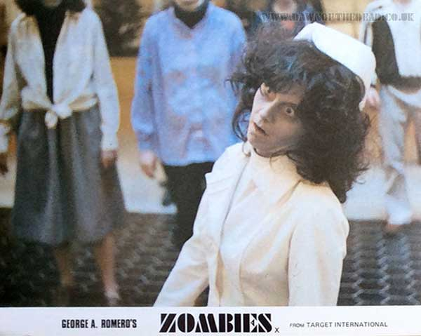 Dawn of the Dead British Target Lobby Card 04