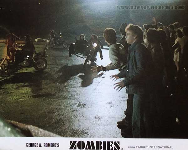 Dawn of the Dead British Target Lobby Card 06