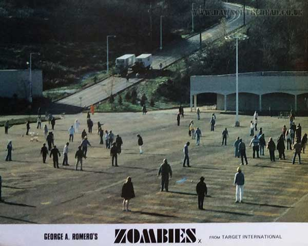 Dawn of the Dead British Target Lobby Card 07