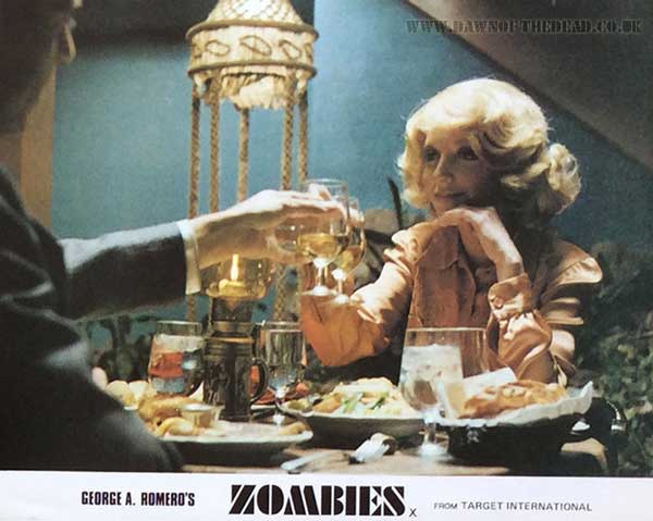Dawn of the Dead British Target Lobby Card 08