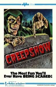 Creepshow UK Pre Cert Intervision VHS Video