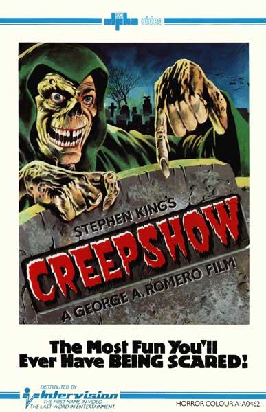 Creepshow UK intervision VHS