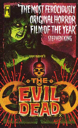 The evil dead uk pre cert front