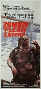 Zombie Flesh Eaters Australian Daybill Poster