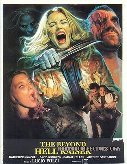 The Beyond International movie poster