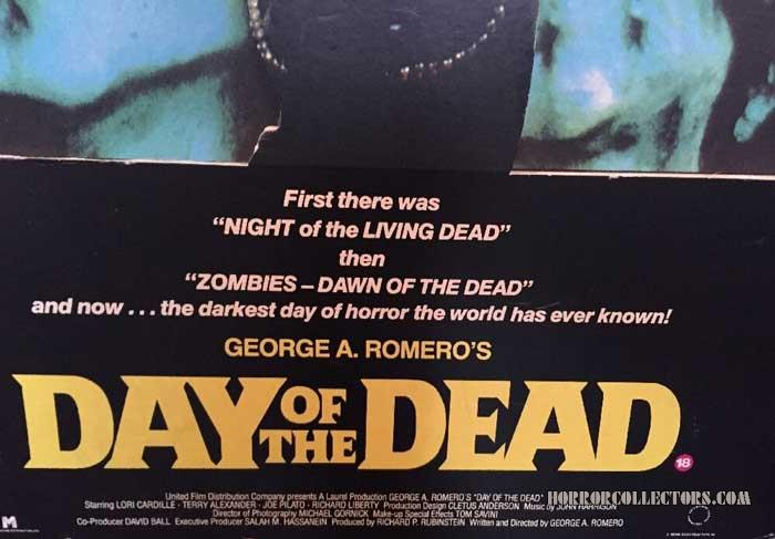 Day of the Dead UK Standee Display