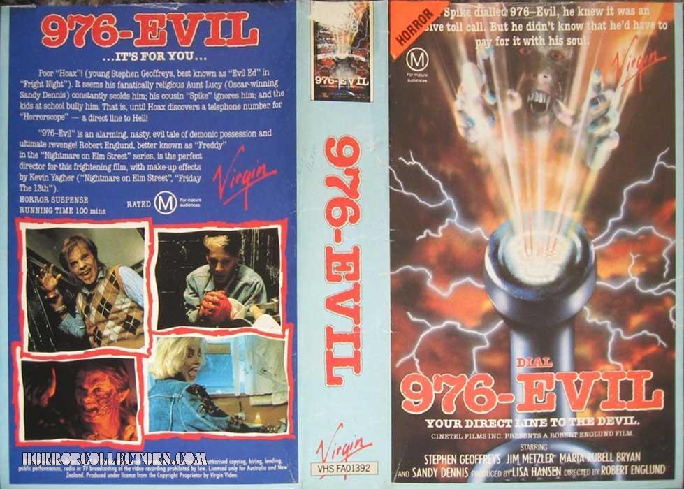 976 Evil Australian Virgin VHS Video