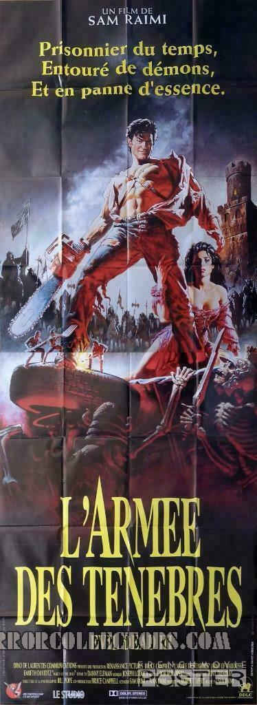 Army of Darkness French 2 Panel Poster