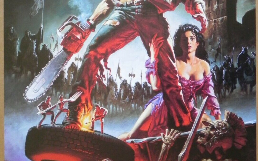 Army of Darkness 1992 US 1-sheet 2-Sided DS Poster Bruce Campbell Sam Raimi
