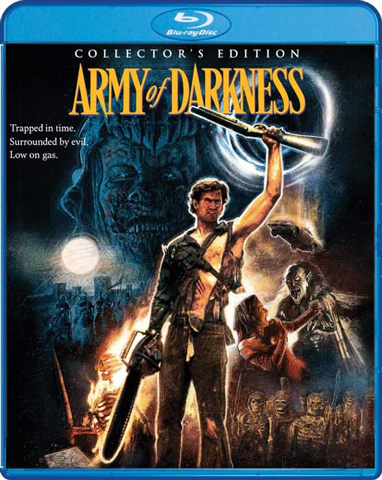 Army of Darkness Evil Dead 3 Scream Factory Blu-Ray Collectors Edition