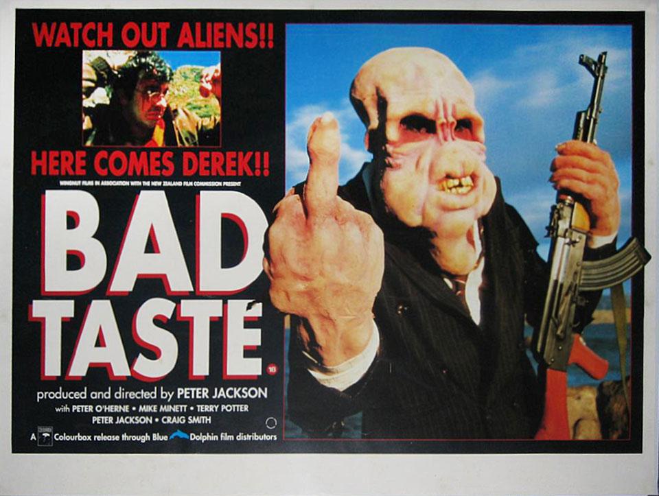 Bad Taste British Quad Poster