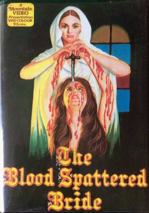 Blood Spattered Bride UK Mountain Video Pre Cert VHS
