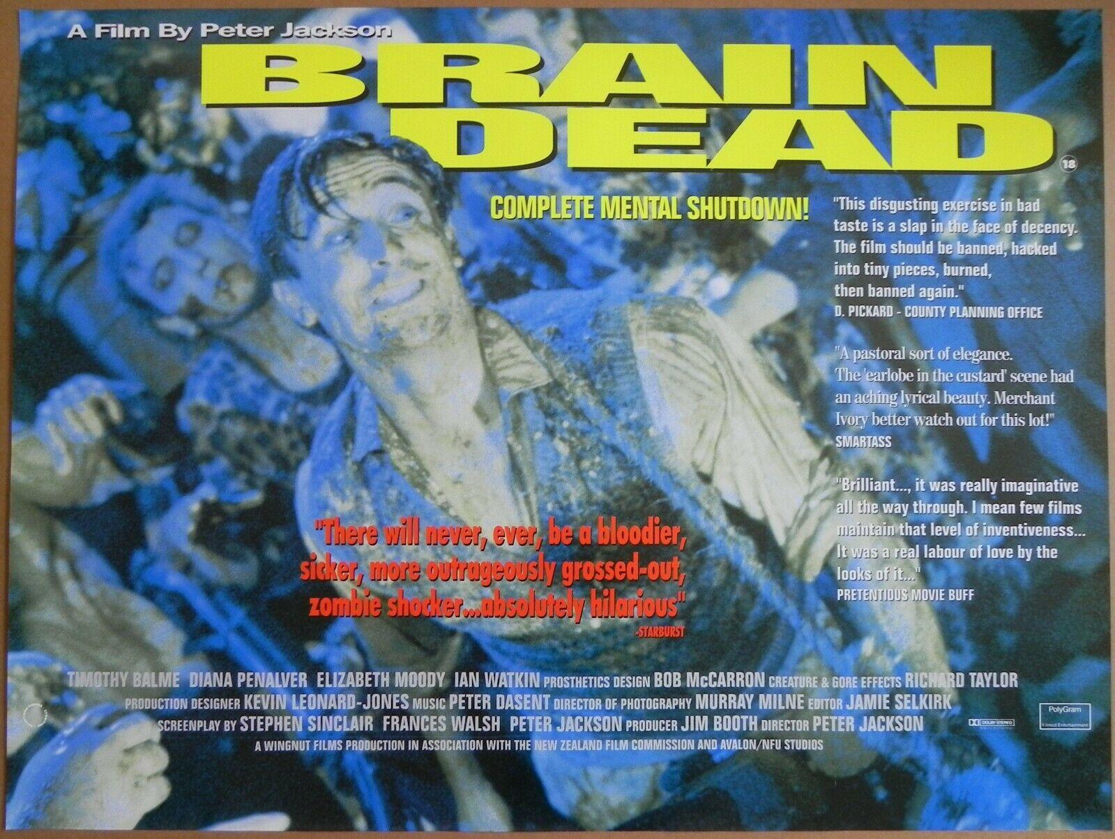 Braindead British Quad Poster