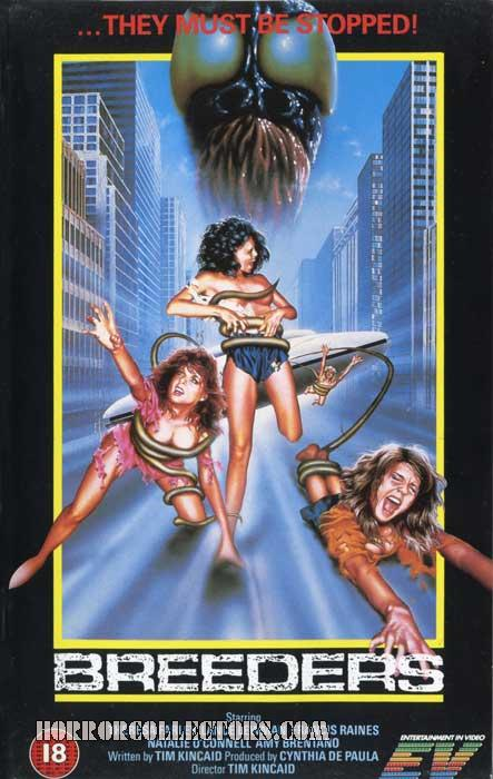 Breeders UK Entertainment In Video VHS
