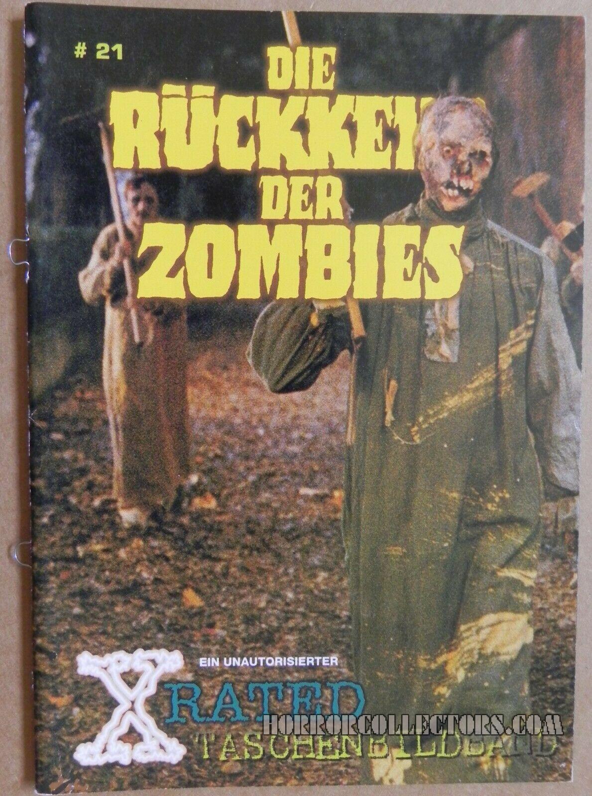 Die Rückkehr der Zombies German X Rated Magazine issue 21
