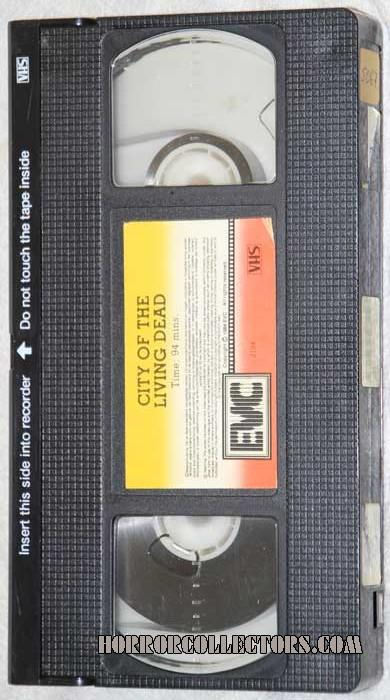 City of the Living Dead Netherlands EVC VHS Video tape