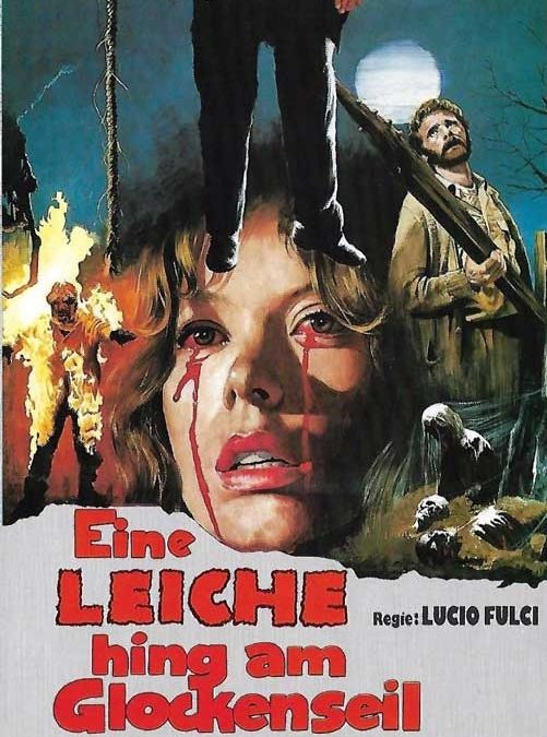 CITY OF THE LIVING DEAD aka GATES OF HELL LUCIO FULCI GERMAN GMV VHS