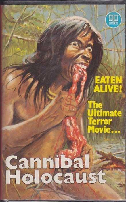 Cannibal Holocaust UK Go Video VHS Video