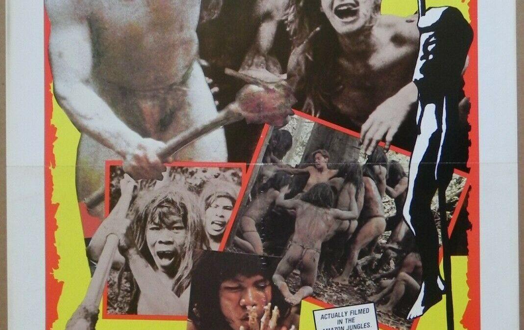 Cannibal Holocaust 1980 U.S. 1-sheet Poster Ruggero Deodato Robert Kerman