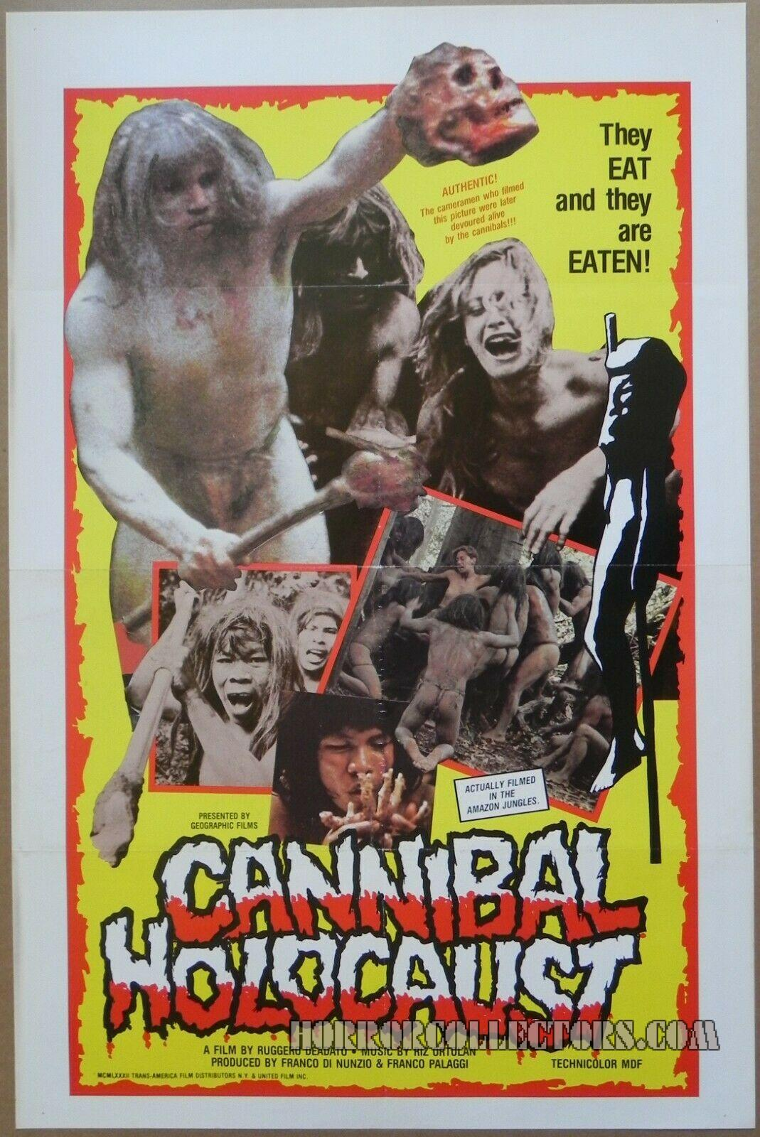 Cannibal Holocaust US One Sheet Poster