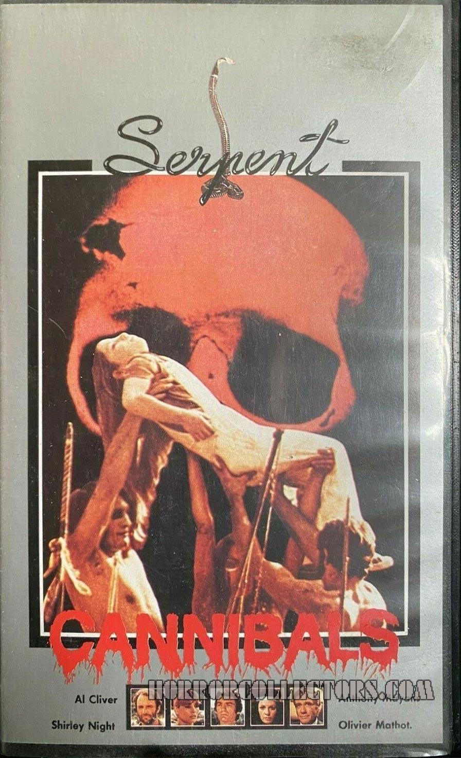 Cannibals Pre Cert Serpent VHS