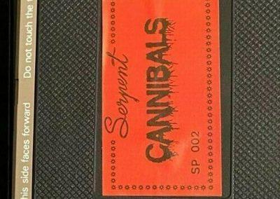 Cannibals UK Serpent Video Pre Cert Tape