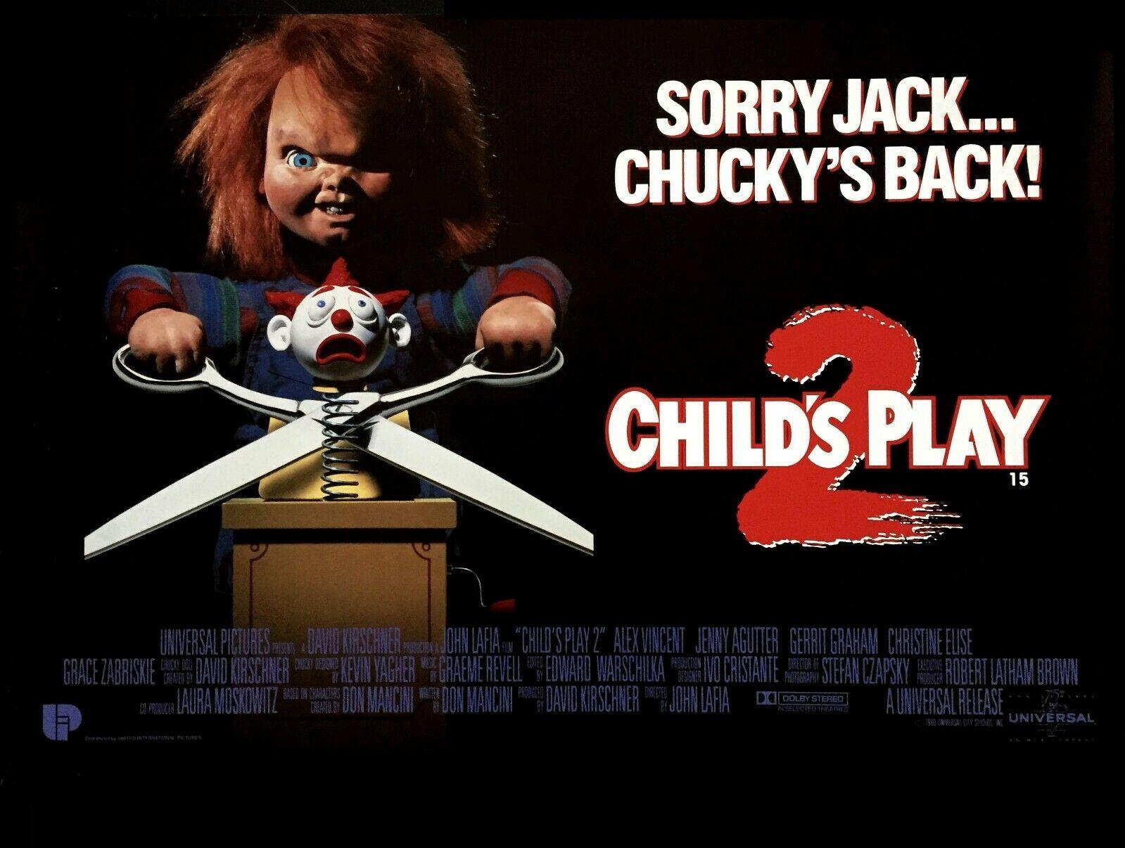 Child's Play 2 British Quad