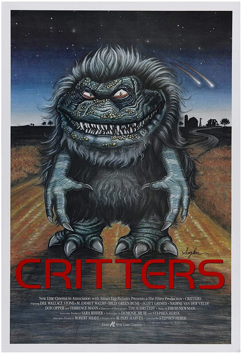 Critters US One Sheet