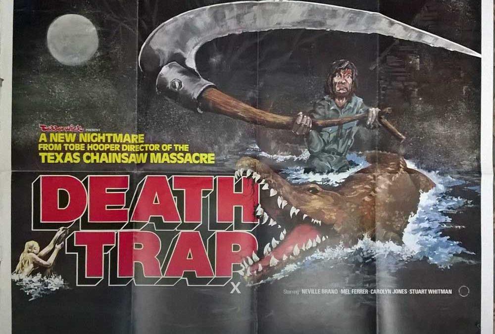 Death Trap British Quad Poster