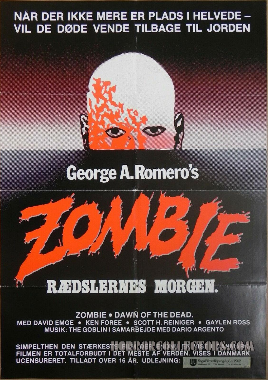 ZOMBIE RAEDSLERNES MORGEN Danish Poster