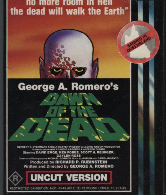 Dawn of the Dead Australian VHS 001