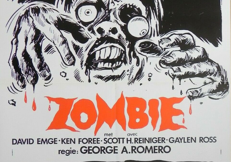 Dawn of the Dead Dutch Zombie Excelsior poster