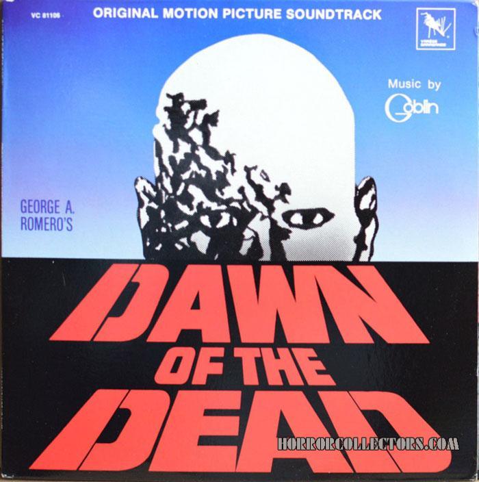 Dawn of the Dead USA Varese Sarabande Goblin Soundtrack LP