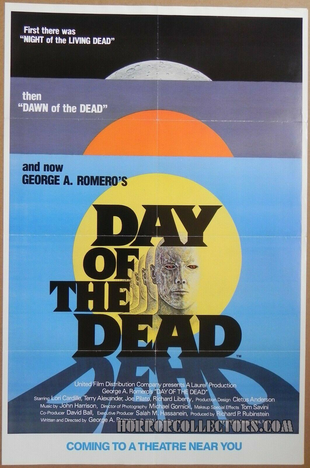 Day of the Dead Advance US One Sheet Poster
