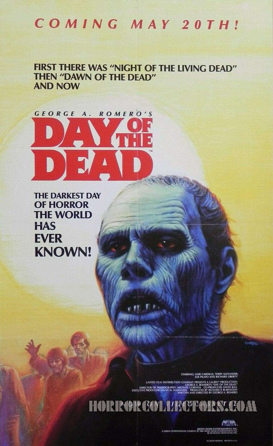 Day of the Dead Media Home Video Poster