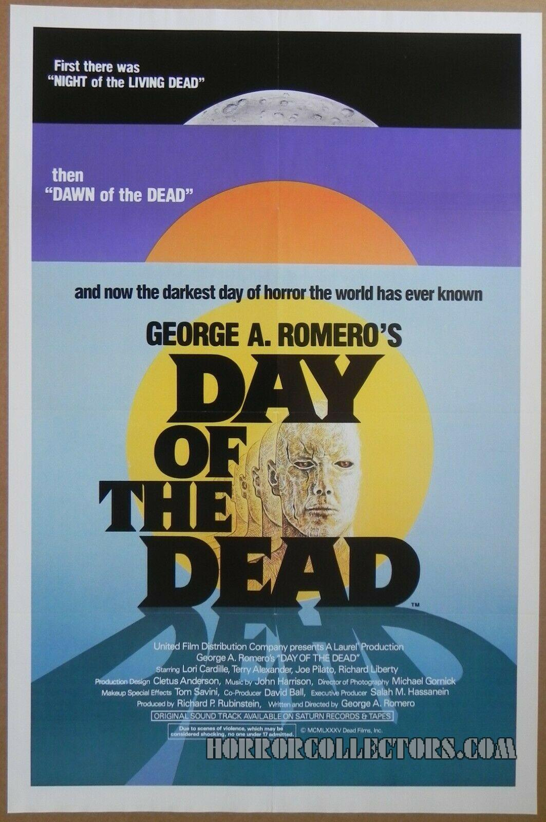 Day of the Dead US One Sheet Poster